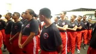 Bombeiros mirins participaram de treinamento no corpo de bombeiros em Trizidela do Vale-MA.