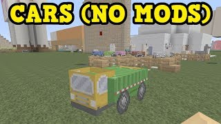 CARS IN MINECRAFT XBOX / PE (BEST EASTER EGG EVER)