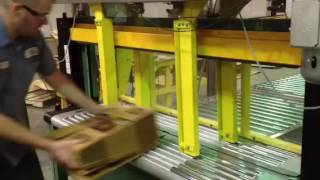 Automated bundle stop and side clamps