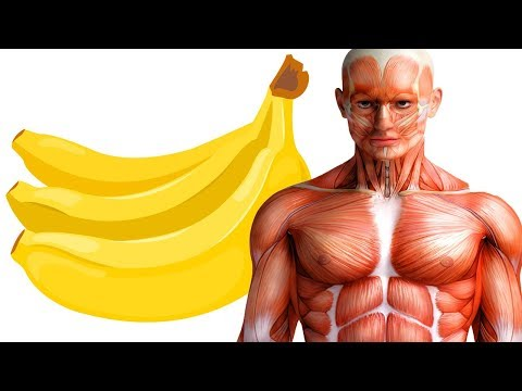 Schau was passiert, wenn du täglich zwei Bananen isst!