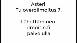 TULOVEROILMOITUS 7: Lähetä ilmoitin.fi -palvelulla