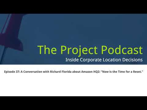 """A Conversation with Richard Florida about Amazon HQ2: """"Now is the Time for a Reset."""