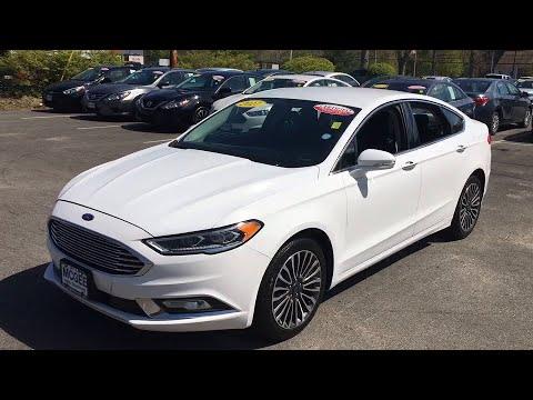 2017 Ford Fusion Plymouth, Marshfield, Pembroke, Weymouth, and Brockton, MA IC7103P