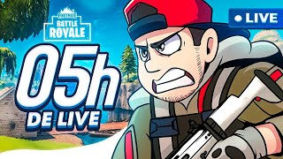 FORTNITE: 5 HORAS DE FORTNITE ‹ EduKof LIVE STREAM ›