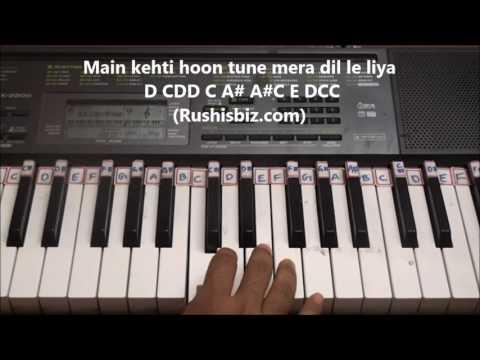 Pardesiya yeh sach hai piya  (Piano Tutorials) - Mr Natwarlal