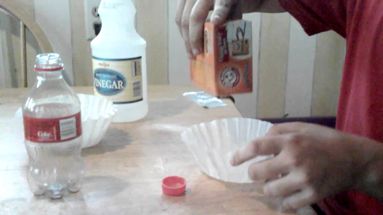 how to make a vinegar and baking soda bomb youtube. Black Bedroom Furniture Sets. Home Design Ideas