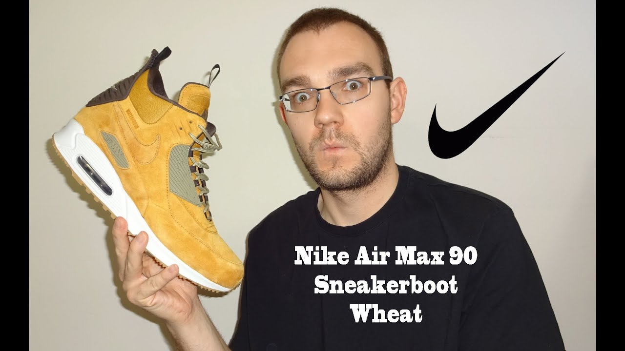 air max 90 sneakerboot wheat