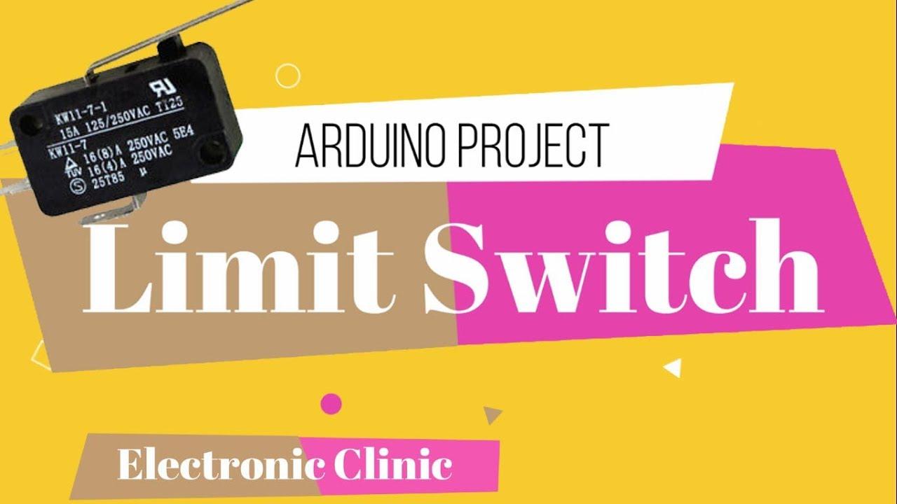 Arduino Uno Limit Switch Tutorial Code 3 Wire Diagram Wiring