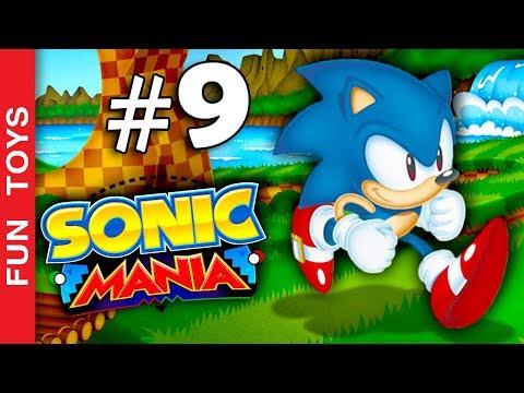 Sonic Mania #9 - Gameplay com tobogãs aquáticos! IRADOS! 🔵 Fun Toys Brinquedos - #SonicMania