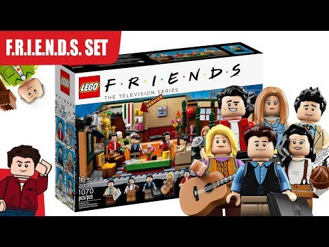 DJ Jaime Ferreira aka Dirty Elbows - The Friends Lego Set Is Coming In September!!!!!!