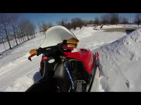 10K+ MILES COLD START - 1997 YAMAHA VMAX SX 700 SNOWMOBILE