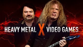 Heavy Metal Icons Discuss the Weird Link Between Metal and Games