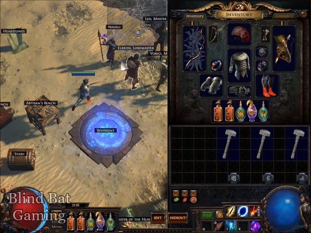 Cartographer S Chisel Vendor Recipe Path Of Exile Poe Youtube