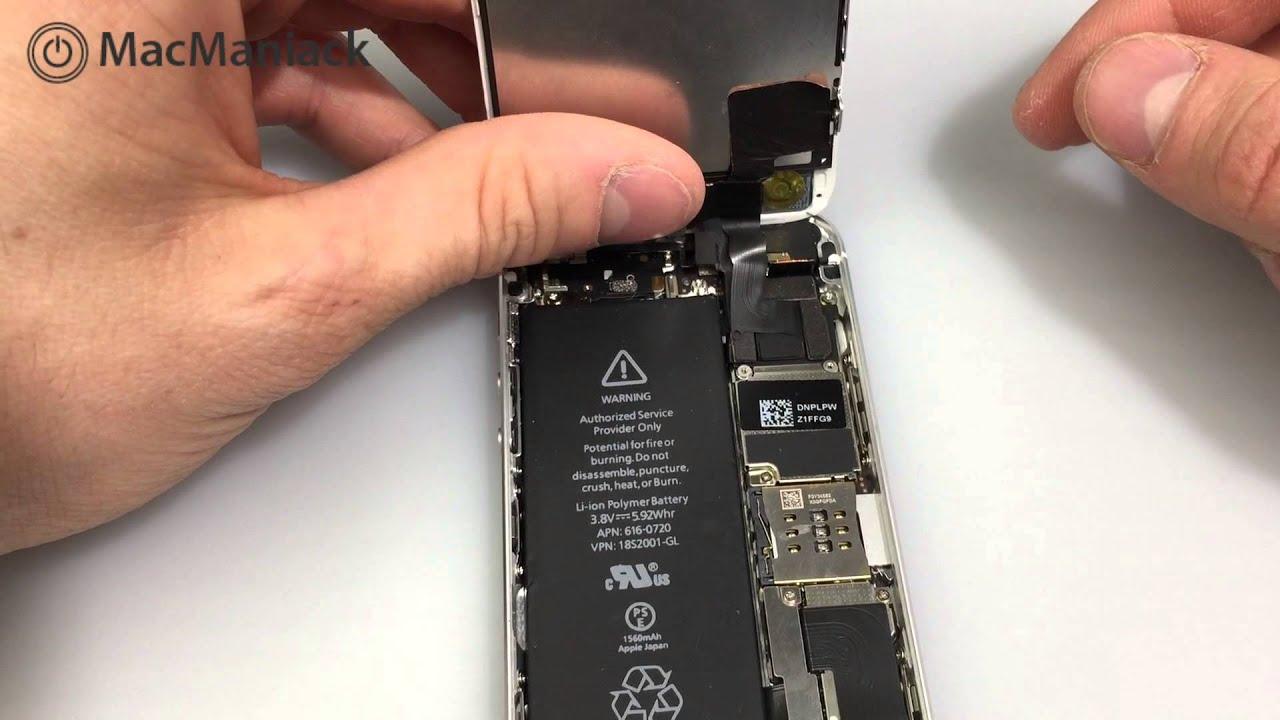 Comment remplacer la batterie d'un iPhone 5S ? Tutoriel complet