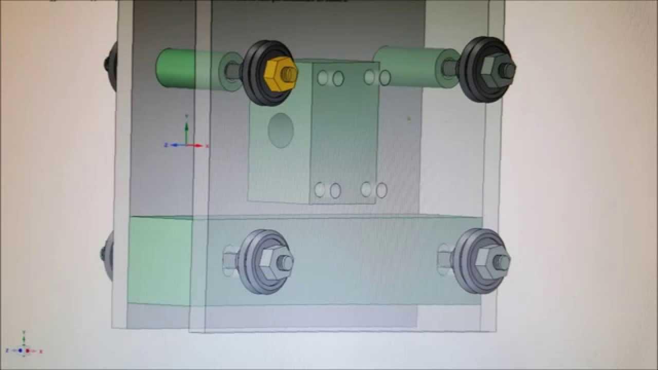 progetto costruzione meccanica CNC low cost - YouTube