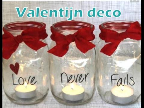 Diy Valentijn Decoratie Theelichthouder Knutselen Love Never Fails Diy Life Mama Youtube