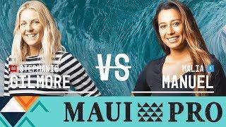 Stephanie Gilmore vs. Malia Manuel - FINAL - 2017 Maui Women