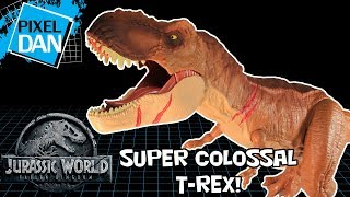 Join Pixel Dan for a look at the HUGE new Super Colossal Roarin' Ty...