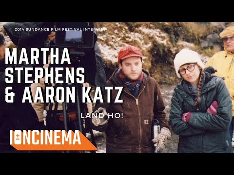 Interview: Martha Stephens & Aaron Katz (Land Ho!) | 2014 Sundance Film Festival