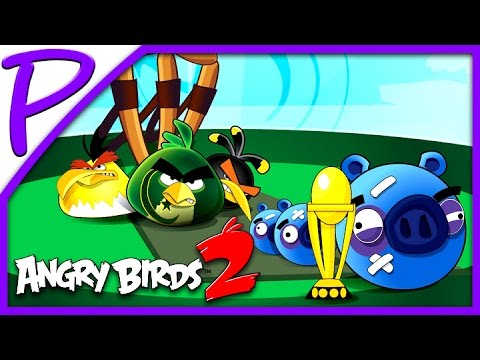 Злые птички 2 #1 (Angry Birds 2). Игра для Детей #РАЗВЛЕКАЙКА
