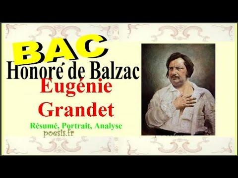 BAC Eugénie Grandet - Honoré de Balzac - Résumé, Portrait, Analyse