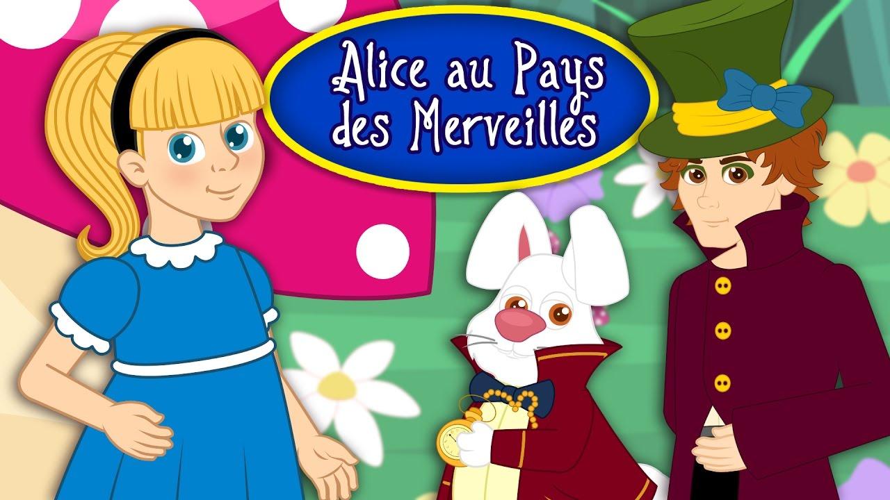 Alice Au Pays Des Merveilles Dessin Animé alice au pays des merveilles - dessin animé complet en français