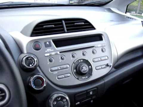 2009 Honda Fit DX Canadian Base Model Exterior Interior