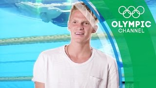 Cody Simpson's Favourite and Possibly The Best Team Swimming Race in History | My Olympic Moment
