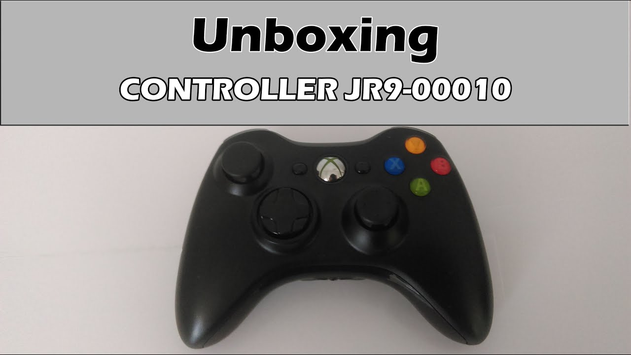 Unboxing in romana | controller xbox 360 jr9-00010 | - YouTube