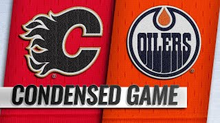 01/19/19 Condensed Game: Flames @ Oilers