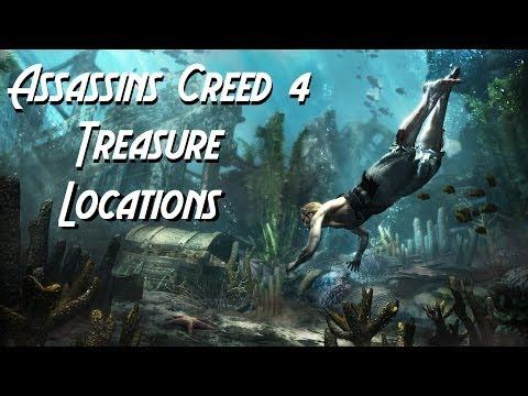Assassins Creed 4 Black Flag   Grey Sails Treasure/Map Location