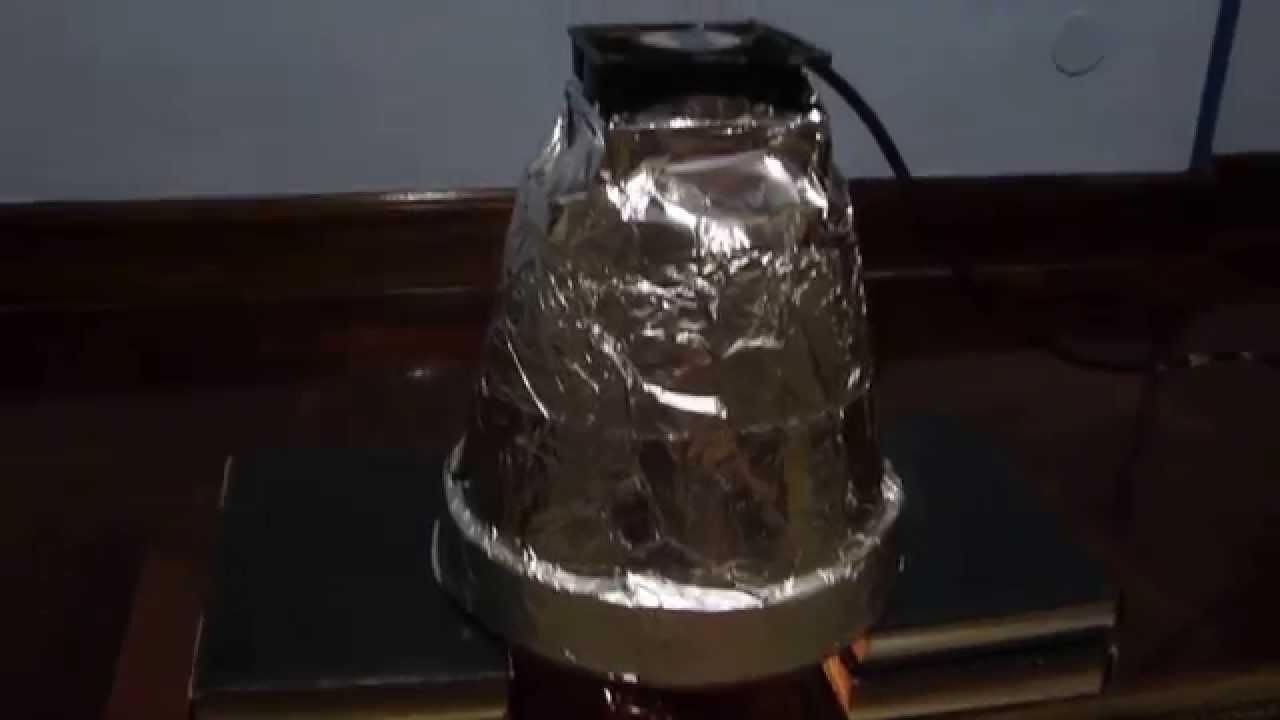 Estufa con macetas versi n mejorada youtube - Calefaccion con velas ...