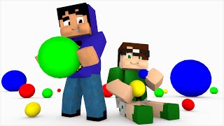 Minecraft: AGAR.IO NO MINECRAFT! (Build Battle)