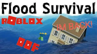 HALA NA HULOG LOG|| Flood Survival Waves ROBLOX|| Azak PH