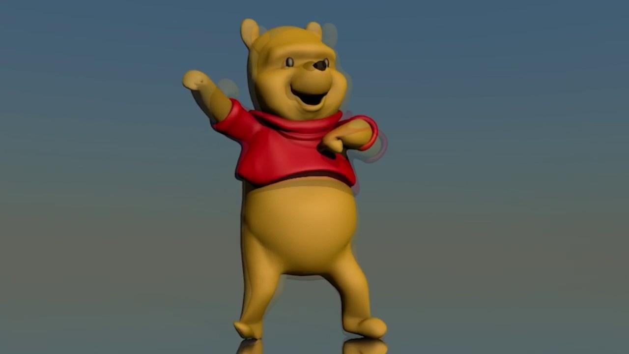 Winnie The Pooh Dancing (1 Hour Long Version)