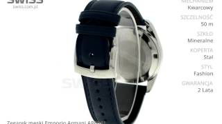 www swiss com pl zegarek męski emporio armani ar6041