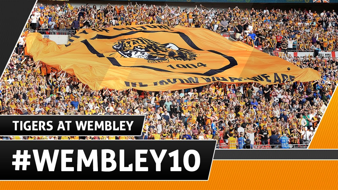#wembley10  Tigers at Wembley