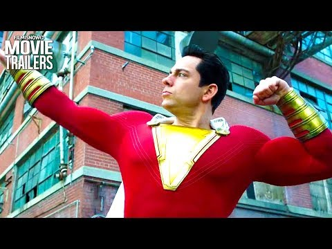 SHAZAM! New Trailer #2 (Superhero 2019) - Zachary Levi DC Movie - 동영상