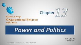 Power and Politics | Organizational Behavior (Chapter 13)