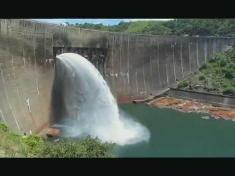 Kariba dam spilling 2013