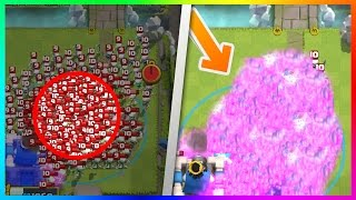 150 SKELETONS Vs 1 TORNADO! | UNBELIEVABLE TORNADO ELIXIR EXPLOSION In Clash Royale!