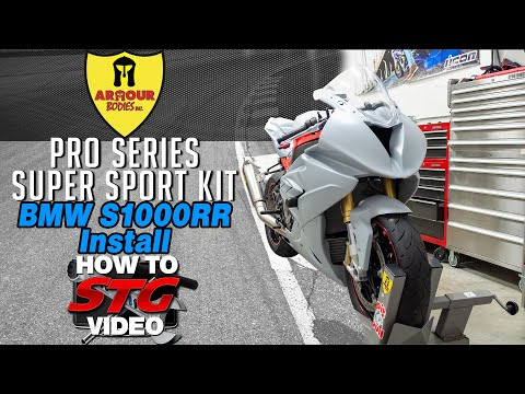 2020 Project Bike 2018 BMW S1000RR Armour Bodies Pro Series Bodywork Install | Sportbike Track Gear