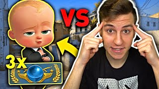 JACOB vs 3 GLOBALE w CSGO