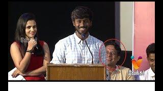 நான் ஸீரீயஸ சொல்றதுக்கு எல்லாம் சிரிக்குறீங்க | Funny Speech Adithya Bhaskar - 96