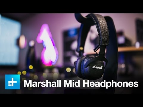 Marshall Mid Bluetooth Headphones - Hands On Review