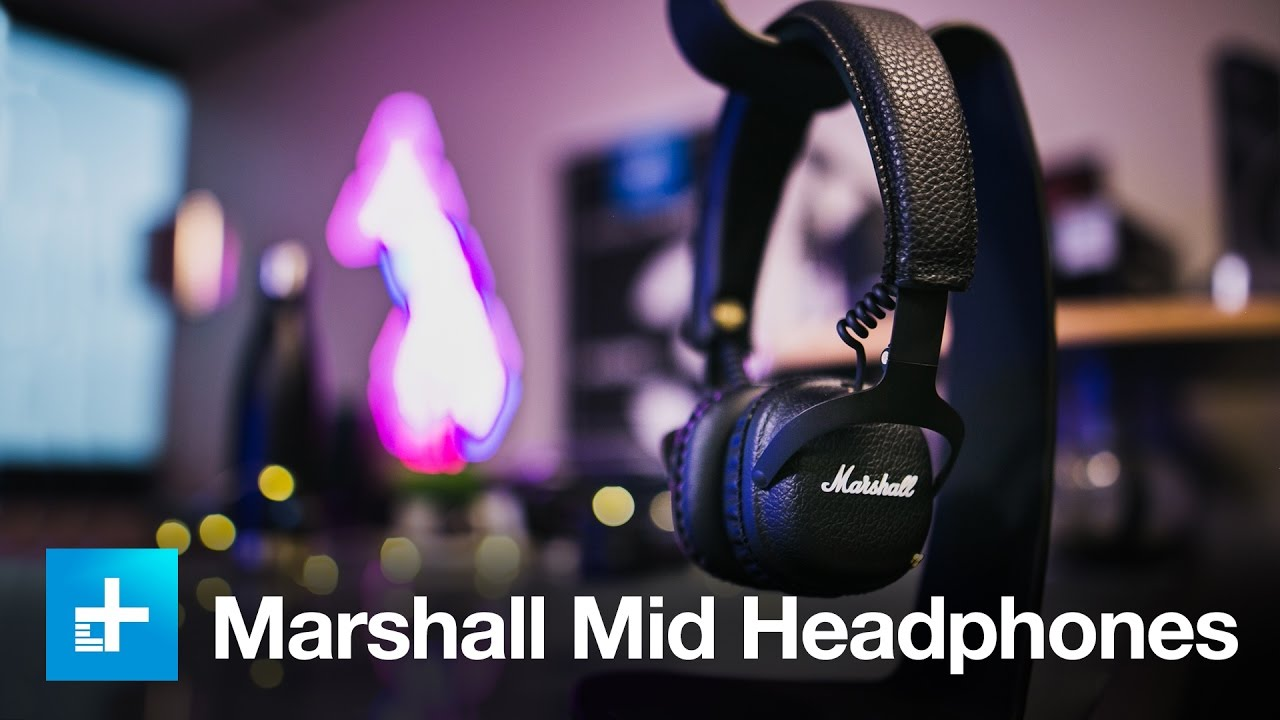 Marshall Mid Bluetooth Headphones Hands On Review Youtube