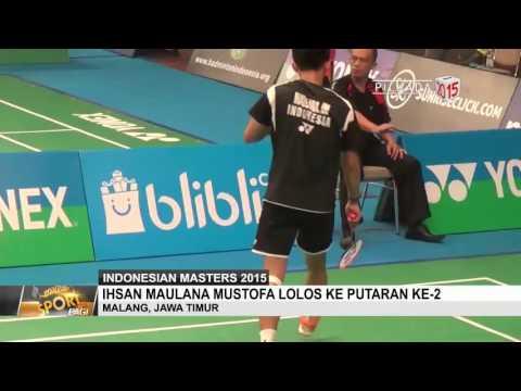 Ihsan Maulana Mustofa Lolos Putaran Ke-2 di Indonesian Masters 2015