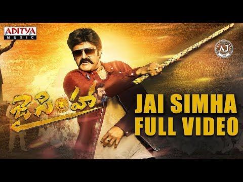 Jai Simha Title Song Full Video |...