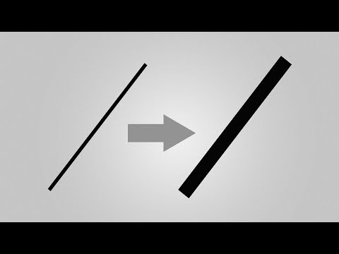 Line Stroke Thickness Not Working (SOLVED!) | Photoshop