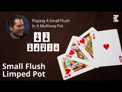 Poker Strategy: Playing A Small Flush In A Multiway Pot